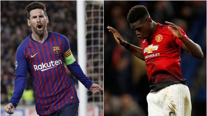 e5ef3d90199df VIDEO: Štvrťfinálové dvojice Ligy majstrov sú známe. Barcelona sa stretne s  United - Liga majstrov - Futbal - Šport - Pravda.sk