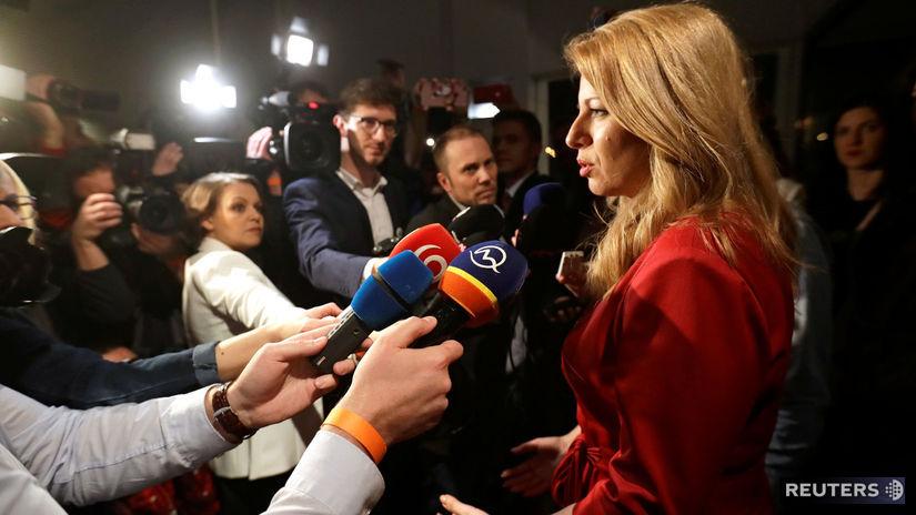 Prezidentské voľby  Do 2. kola postúpila Zuzana Čaputová a Maroš ... 0a65dda28cb