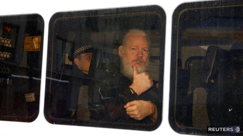 9bd8e0da0e732 Assangea odsúdili na 50 týždňov väzenia za porušenie podmienok kaucie -  Svet - Správy - Pravda.sk