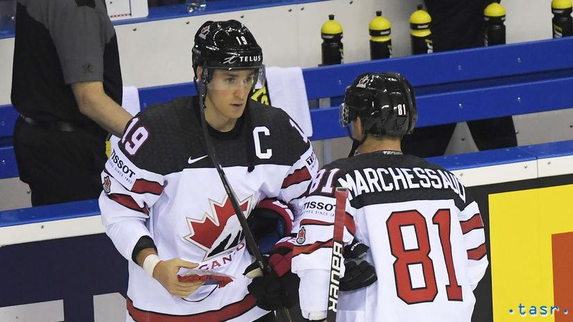 b641fd81df5f1 Slováci majú kvalitu a energiu z tribún, vraví kanadský kapitán - MS 2019 -  Hokej - Šport - Pravda.sk