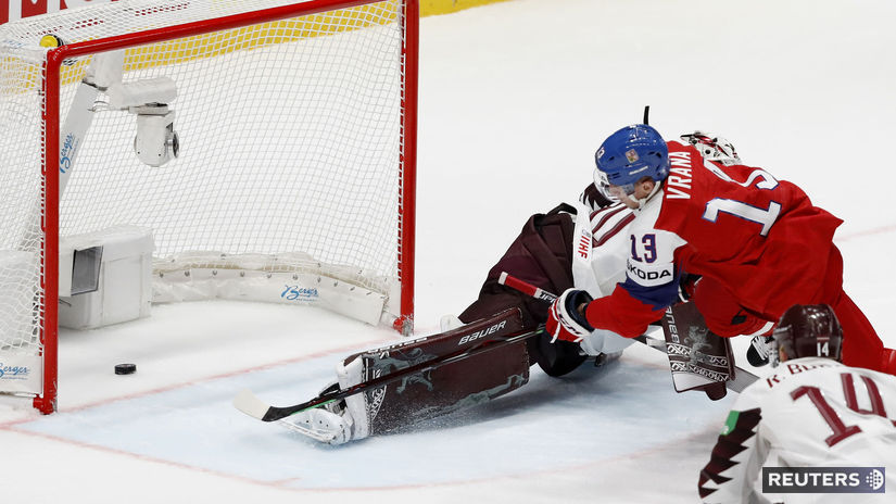 0049786e458ee Česi odpovedali na zlý vstup gólovou smršťou. Francúzi potrápili Kanaďanov  - MS 2019 - Hokej - Šport - Pravda.sk