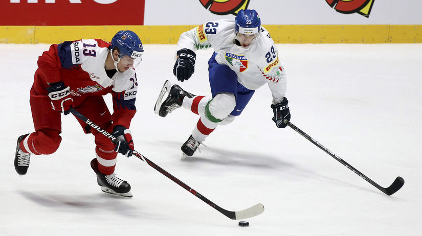 9005a95861a1b Česi si urobili z Talianska trhací kalendár. Na nulu vyhrali aj Fíni - MS  2019 - Hokej - Šport - Pravda.sk