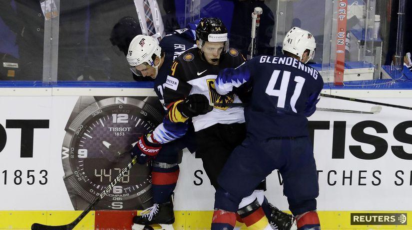 d08e0d413b8e6 Slovenské nádeje zhasli, do štvrťfinále idú Američania. Rusi sú  stopercentní - MS 2019 - Hokej - Šport - Pravda.sk