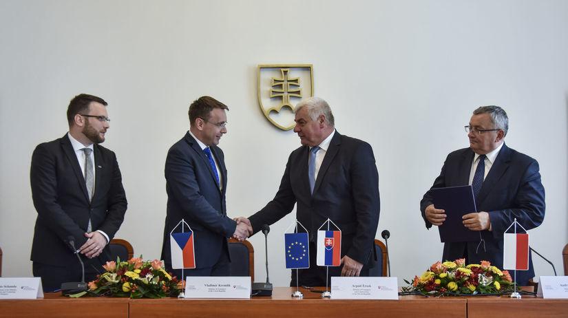 Setkání ministrů dopravy v Bratislavě. Zdroj: TASR