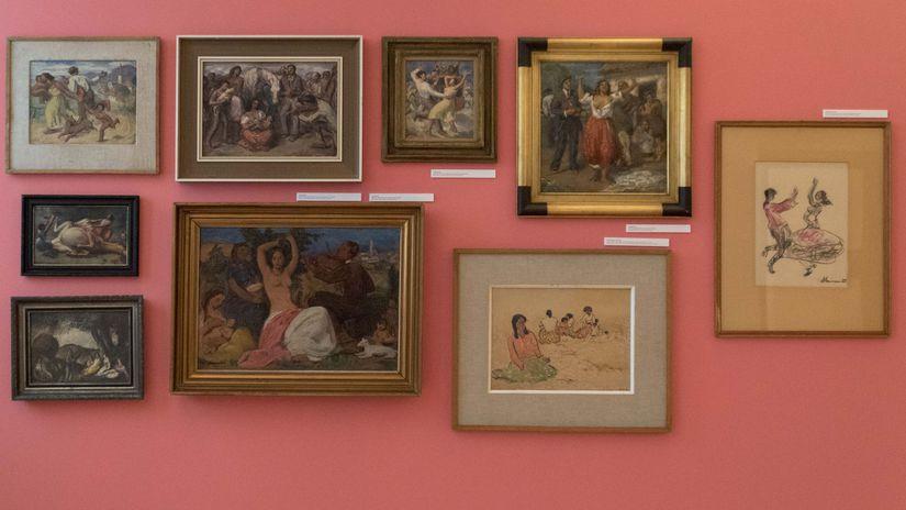 6e006b849b92 Rómovia zaplnili priestory Stredoslovenskej galérie - Galéria - Kultúra -  Pravda.sk