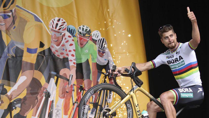 b71da51fc69b6 Sagan obhajuje rekord. Je jedným z dvoch lákadiel generálky na Tour -  Cyklistika - Šport - Pravda.sk