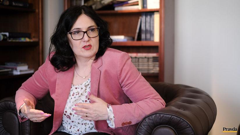 Ministerka Lubyová sa neobáva o svoje budúce uplatnenie - Domáce - Správy - Pravda.sk