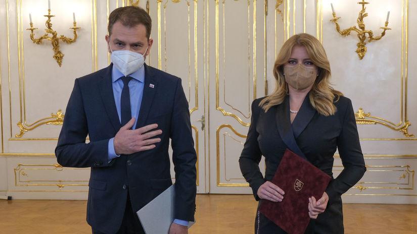 Prezidentka prijala demisiu Matoviča, zostavením novej vlády poverila Hegera - Domáce - Správy - Pravda.sk