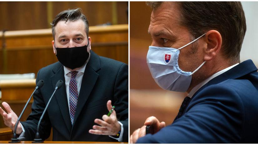"""Blaha: Matovič sa mi pred poslancami musí ospravedlniť za """"mydlenie barana"""" - Domáce - Správy - Pravda.sk"""