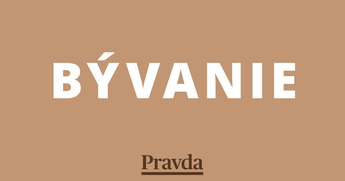 658c19eb94d6 Záhrada - Bývanie - Pravda.sk