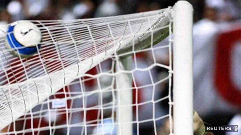 Futbalová brána.