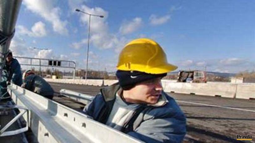 Diaľnica, stavba, práca