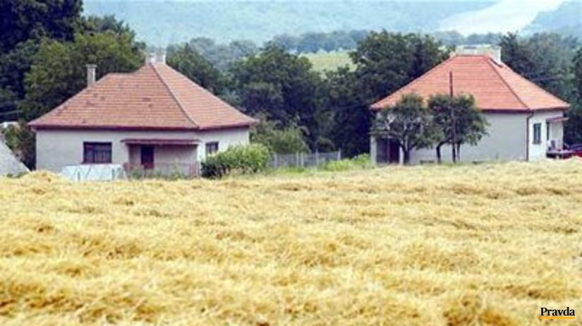Dedina, pole, vidiek