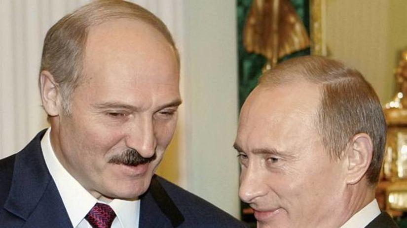 Lukašenko, Putin