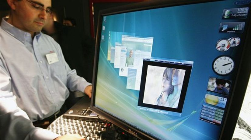 Počítač s Windows Vista