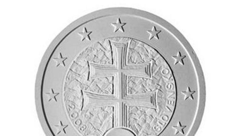 Slovenská eurominca - dvojkríž