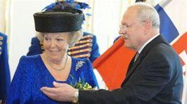 Holandská kráľovná Beatrix navštívila Slovensko