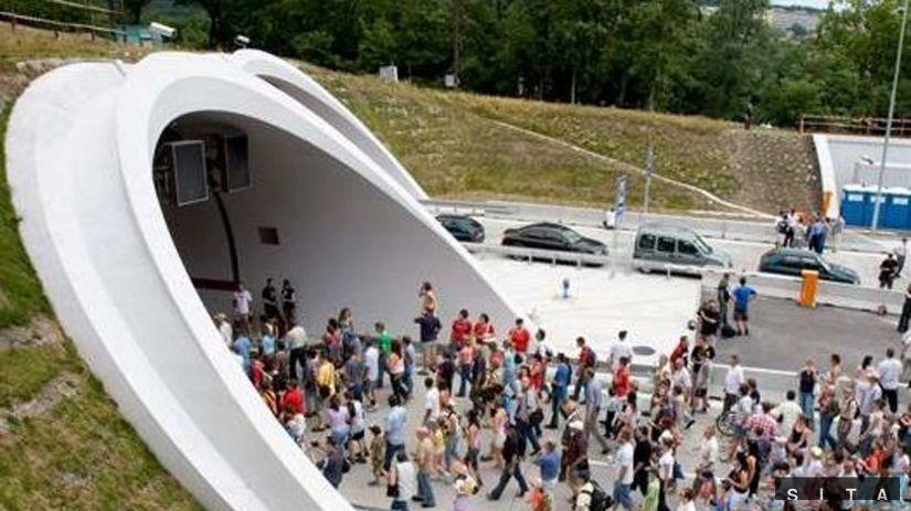 V Bratislave otvorili tunel Sitina