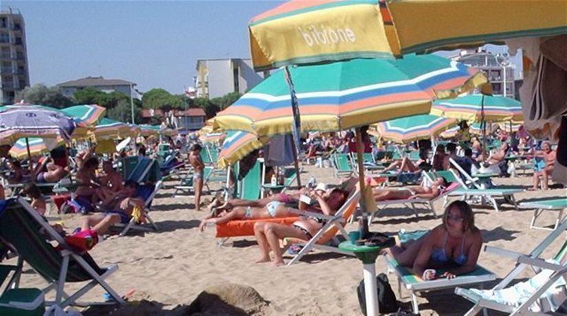 Bibione, dovolenka, pláž, piesok, relax
