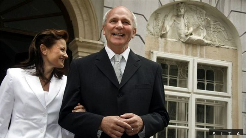 František Mikloško sa oženil