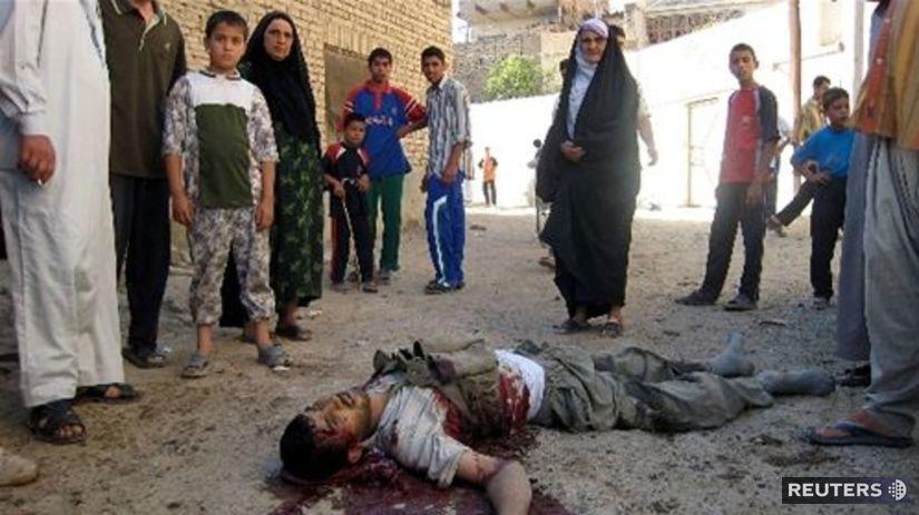 Teroristický útok v Iraku