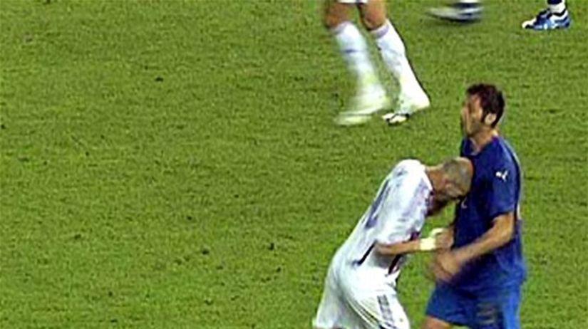 Zidane - Materazzi