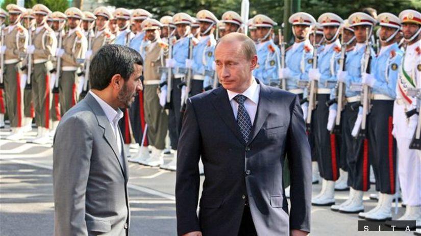 Putin v Iráne