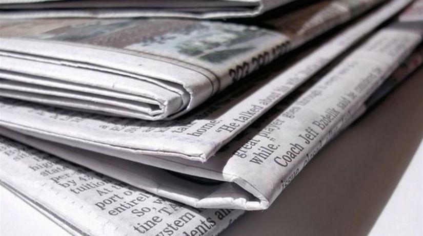 Noviny, tlač