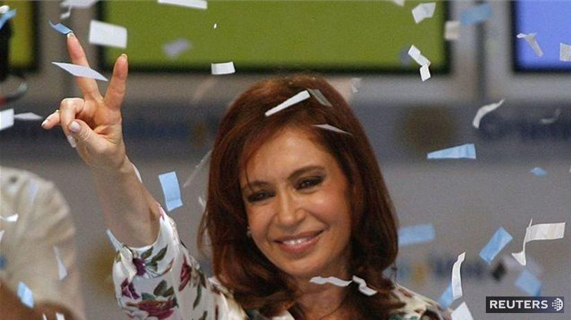 Cristina Fernándezová-Kirchnerová ohlasuje...