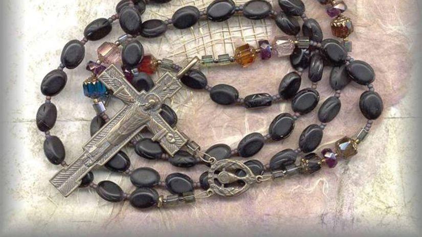 Viera, náboženstvo, cirkev, kríž, ruženec