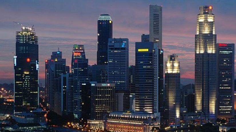 Singapurske mrakodrapy