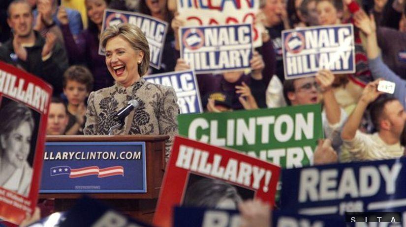 Hillary Clintonová - primárky