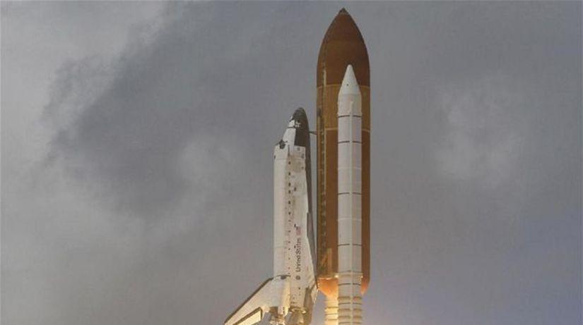 raketoplán raketa Discovery