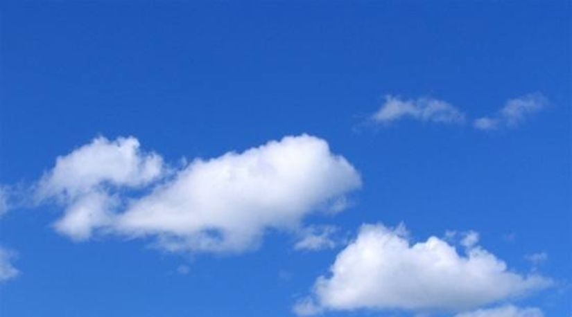 obloha, nebo, mraky, oblaky