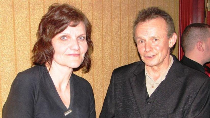 Jana Oľhová a Juraj Nvota