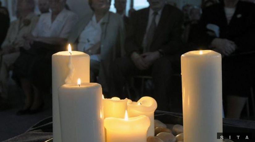 Smrť, sviečka