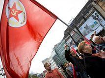 Komunisti oslávili 1. máj