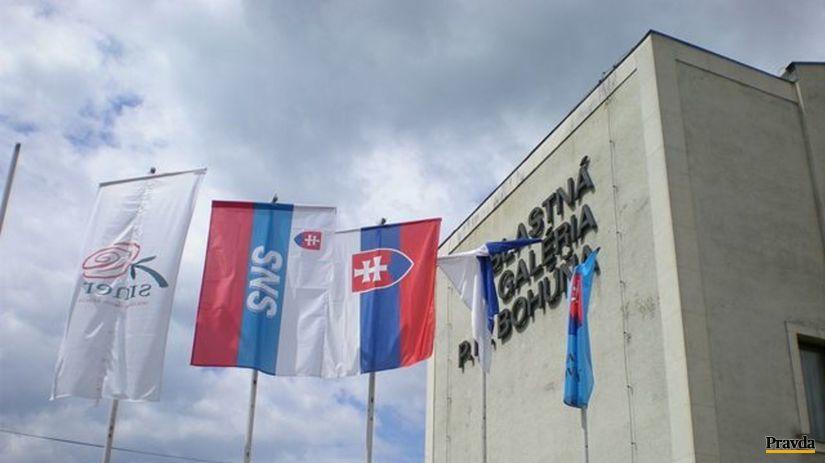 Zástavy politických strán