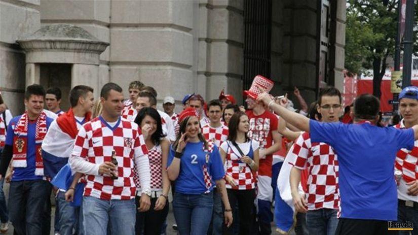 Nie, nie, žiadny Záhreb. Chorvátski fanúšikovia...