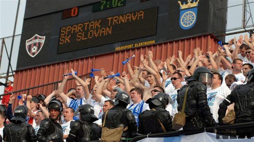 Trnava, štadión, fanúšikovia