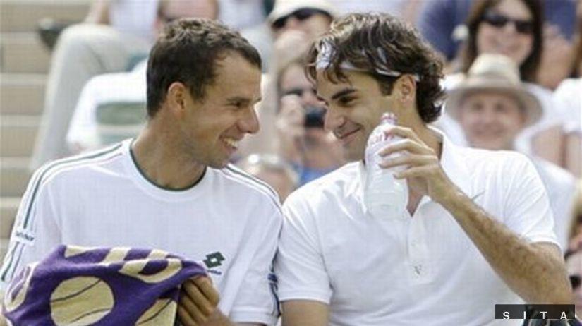 Dominik Hrbatý, Roger Federer