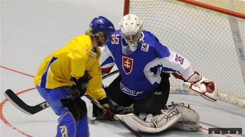 Inline MS finále Slovensko-Švédsko