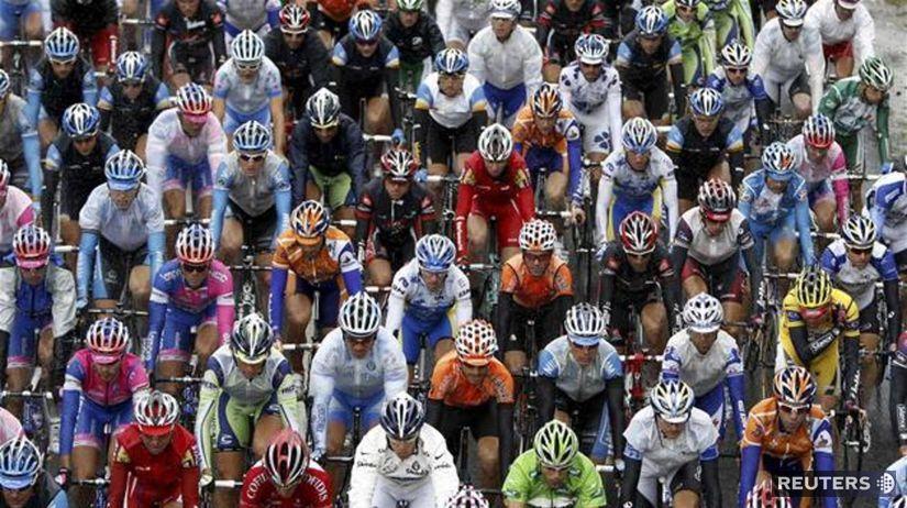 Tour de France, pelotón