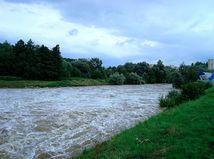 Povodne na východnom Slovensku