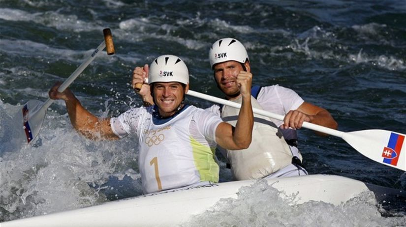 Hochschornerovci, vodný slalom, OH 2008