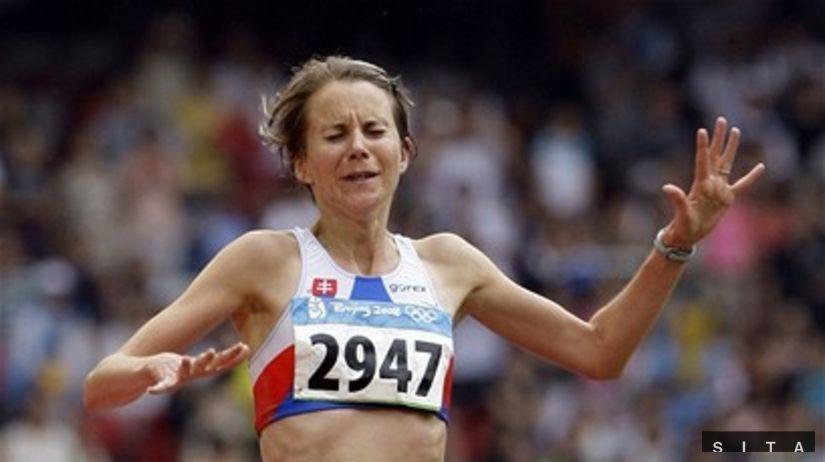 Zuzana Tomas, maratón, OH 2008