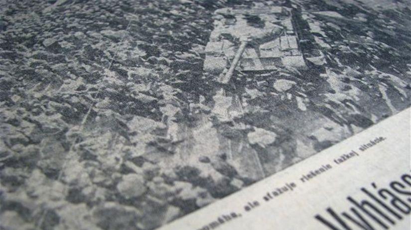 august 1968, okupácia Československa, ČSSR,...