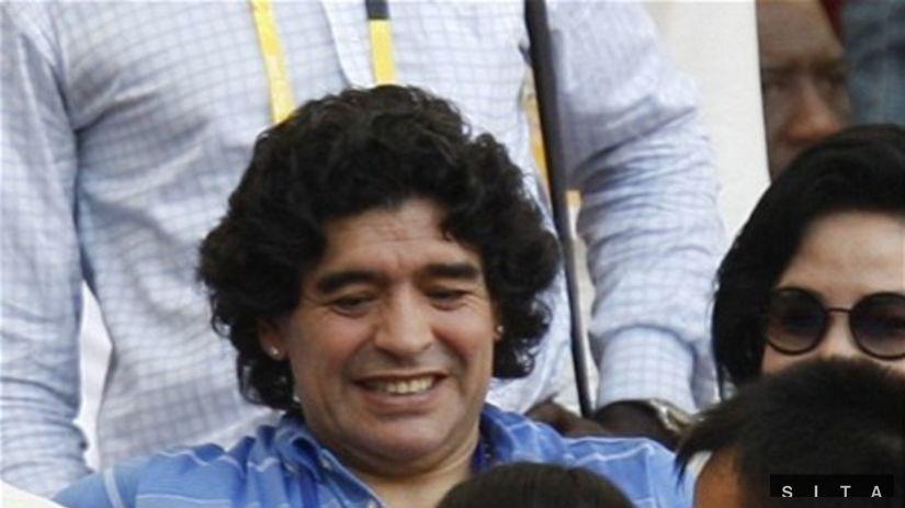 Argentína - Nigéria, Maradona