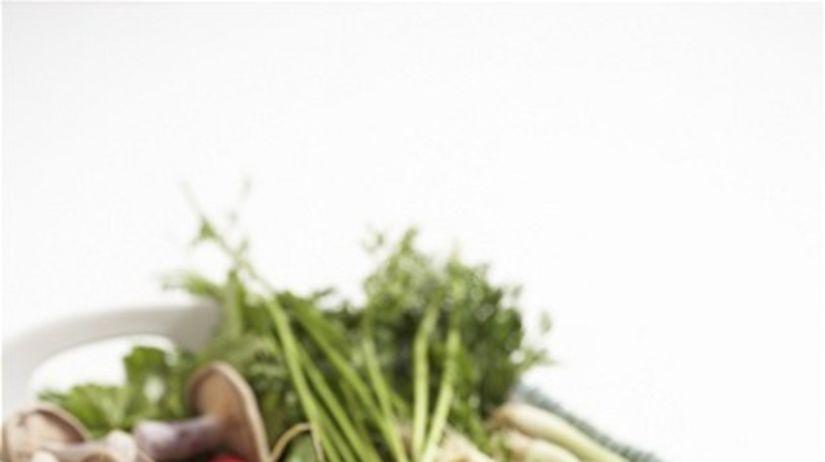 zelenina - misa - zdravé jedlo
