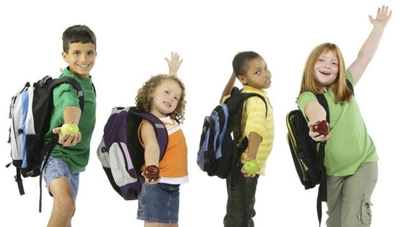 školák - desiata - školská taška